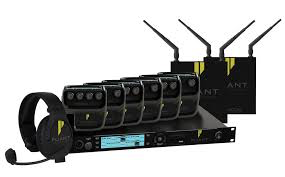 Pliant CrewCom Wireless Intercomset 2ch. Incl. 4*Beltpack/Headset